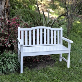 Shine Company 44 75 In W X 36 In L Natural Bench In The Patio Benches Department At Lowes Com