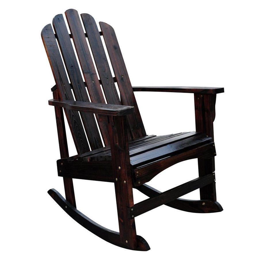 Shine Company Marina Cedar Rocking Chair with Slat Seat  sc 1 st  Loweu0027s & Shine Company Marina Cedar Rocking Chair with Slat Seat at Lowes.com