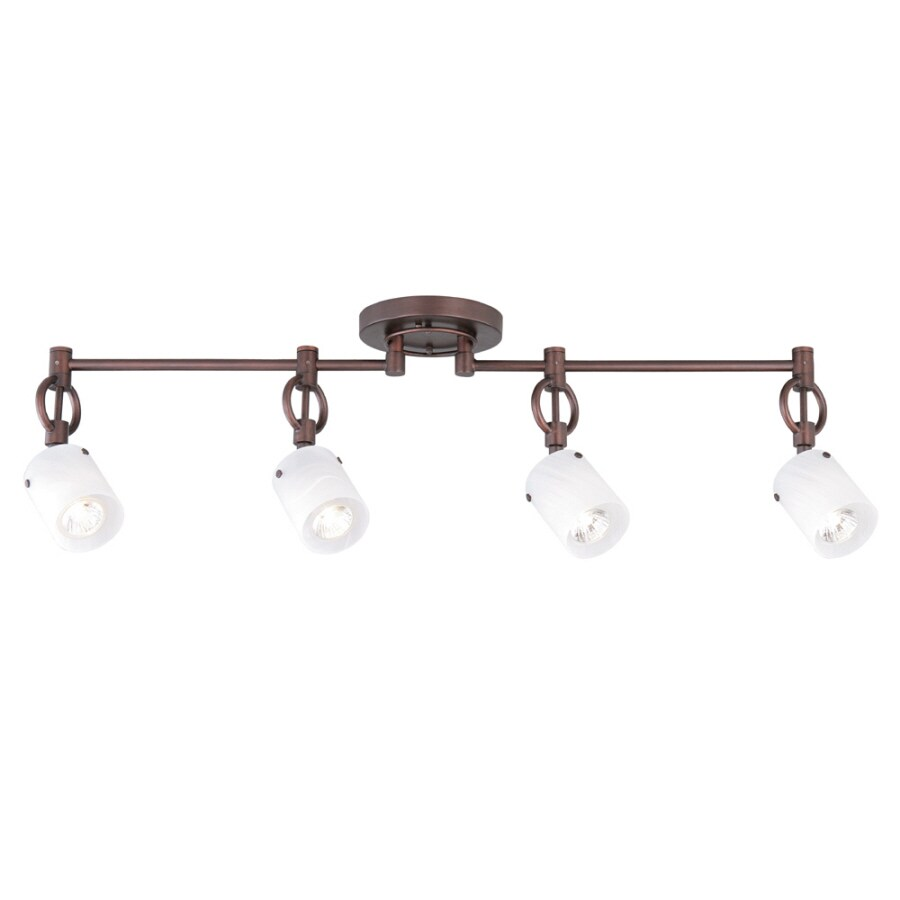Shop allen roth 4 light 3287 in dark oil rubbed bronze dimmable allen roth 4 light 3287 in dark oil rubbed bronze dimmable flush mozeypictures Choice Image