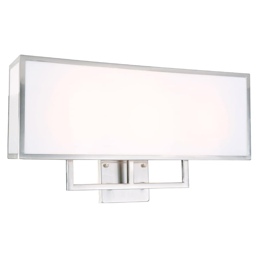 Vanity Light Gta : Shop Portfolio 3-Light Brushed Nickel Bathroom Vanity Light at Lowes.com