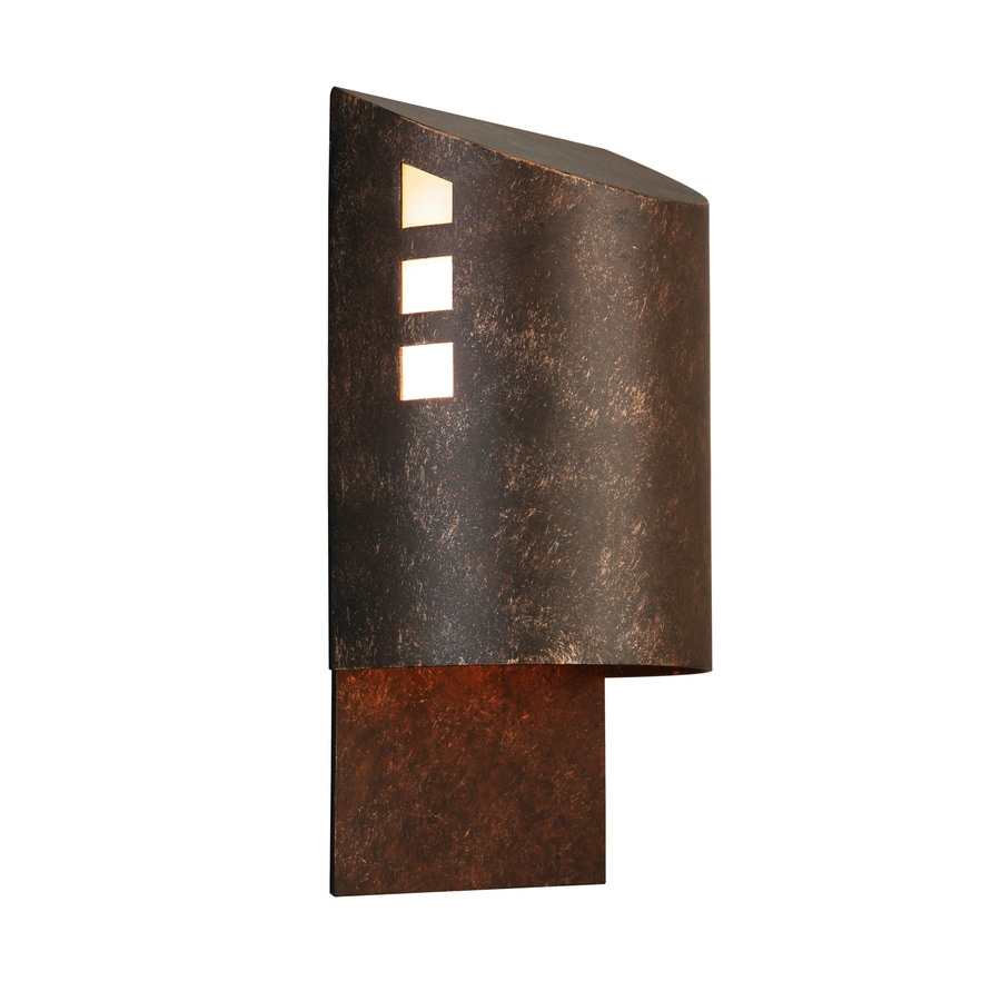 Portfolio 12 In H Specialty Bronze Dark Sky Outdoor Wall Light