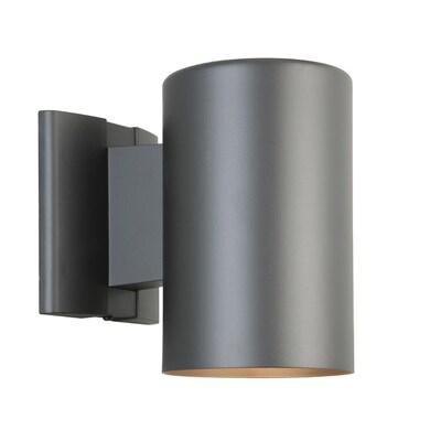 7 In H Matte Black Dark Sky Medium Base E 26 Outdoor Wall Light