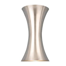 Style Selections 6.75 In W 2 Light Brushed Nickel Pocket LED Wall Sconce  ENERGY