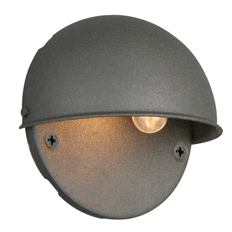Portfolio Black Low Voltage Deck Light