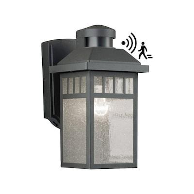 11 5 In H Black Medium Base E 26 Outdoor Wall Light