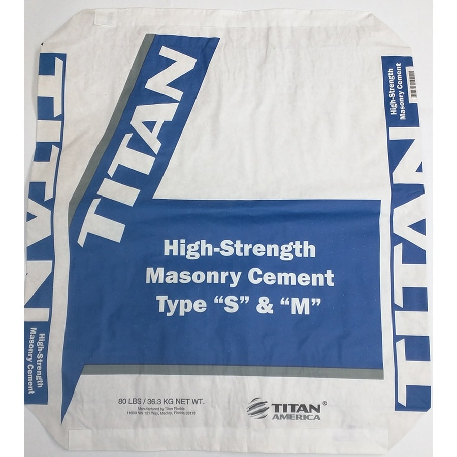 Titan Florida 80-lb Gray Type- S Mortar Mix