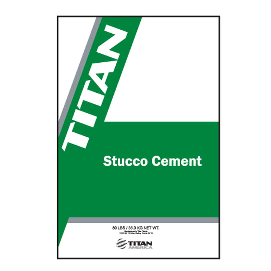 Titan Florida 80-lb Premixed Finish Coat Stucco Mix
