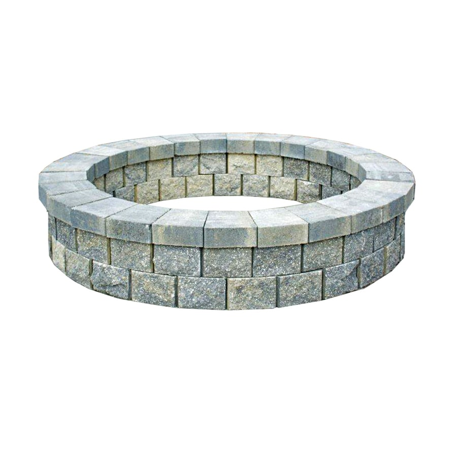 Titan Florida 81-in W Quarry Ridge Stone Wood-Burning Fire Pit