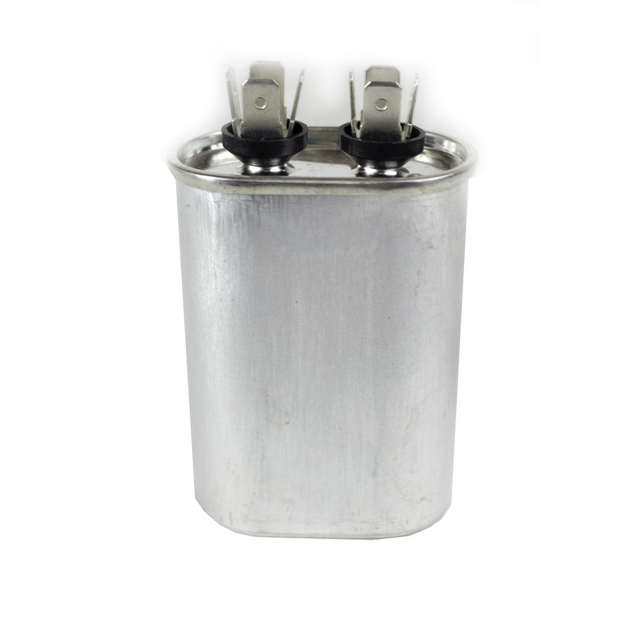 440-Volt 12 5-MFD Oval Single Run Capacitor at Lowes com