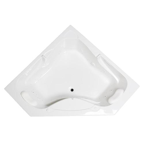 Laurel Mountain Markham 59 5 In White Acrylic Corner Front