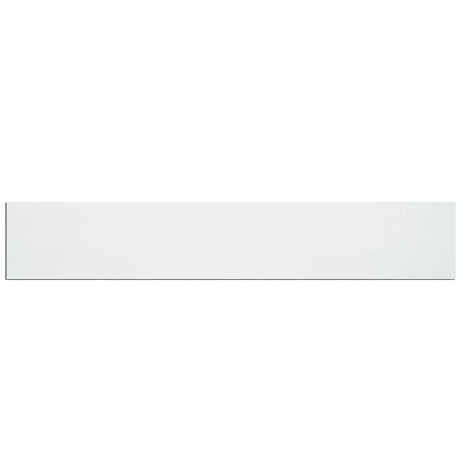 James Hardie HardieSoffit 24-in x 96-in Arctic White Fiber Cement Solid Soffit