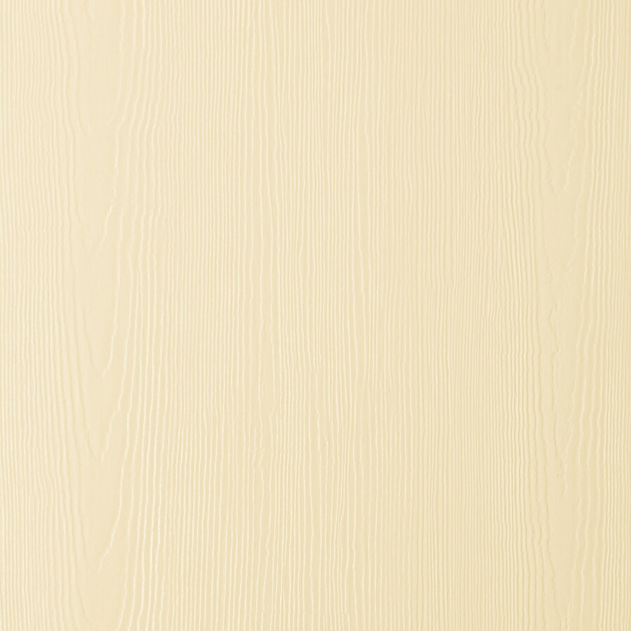 James Hardie (Actual: 0.312-in x 48-in x 96-in) HardiePanel Primed Sail Cloth Cedarmill Vertical Fiber Cement Siding Panel