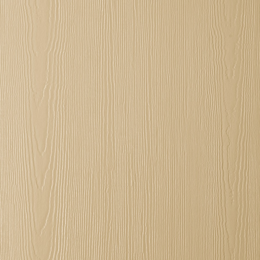 James Hardie HardiePanel Primed Autumn Tan Cedarmill Vertical Fiber Cement Siding Panel (Actual: 0.312-in x 48-in x 96-in)