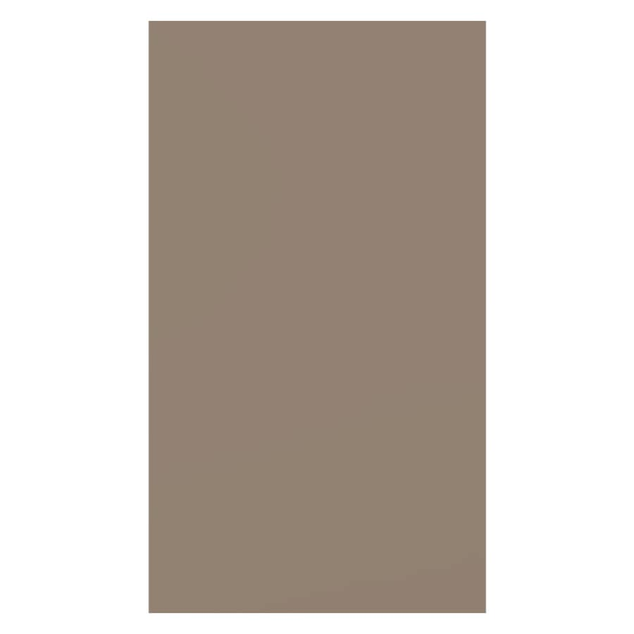 James Hardie (Actual: 0.312-in x 48-in x 120-in) HardiePanel Primed Khaki Brown Smooth Vertical Fiber Cement Siding Panel
