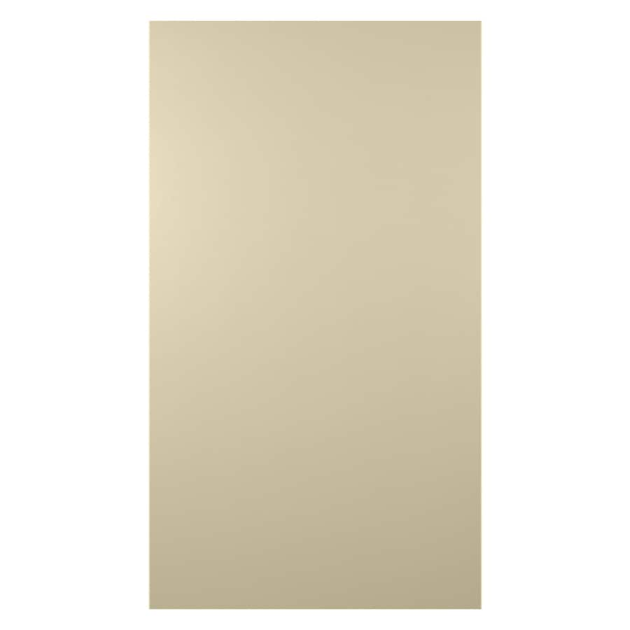 James Hardie (Actual: 0.312-in x 48-in x 120-in) HardiePanel Primed Navajo Beige Smooth Vertical Fiber Cement Siding Panel