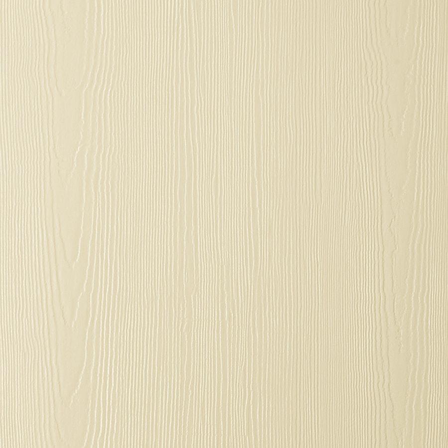 James Hardie HardiePanel Primed Navajo Beige Cedarmill Vertical Fiber Cement Siding Panel (Actual: 0.312-in x 48-in x 96-in)