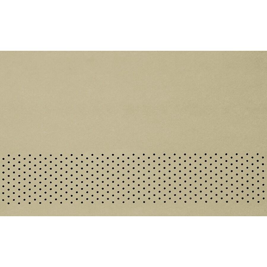 James Hardie 16-in x 144-in HardieSoffit Sandstone Beige Fiber Cement Vented Soffit