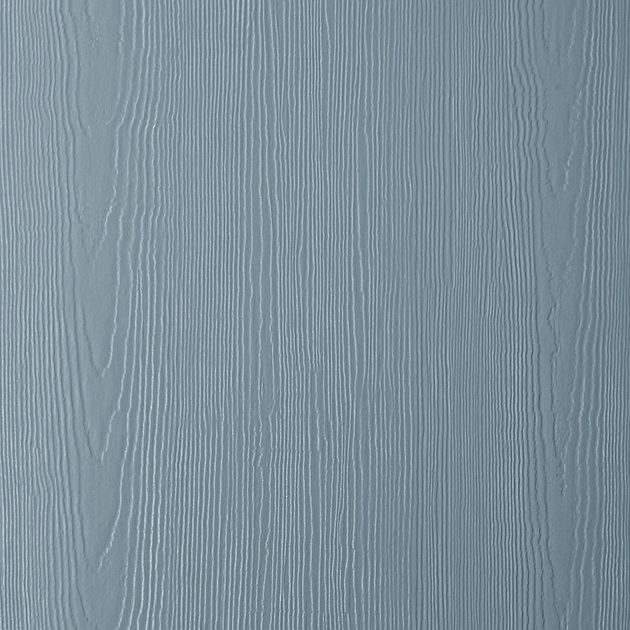 James Hardie HardiePanel Primed Boothbay Blue Cedarmill Vertical Fiber Cement Siding Panel (Actual: 0.312-in x 48-in x 96-in)