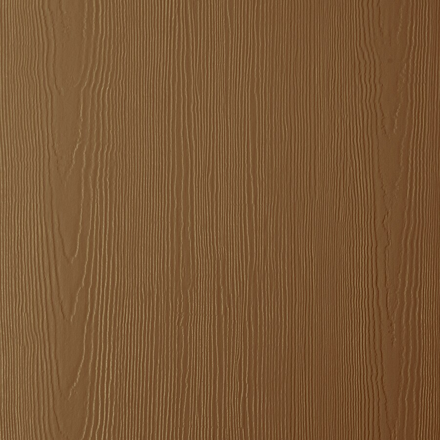 James Hardie HardiePanel Primed Chestnut Brown Cedarmill Vertical Fiber Cement Siding Panel (Actual: 0.312-in x 48-in x 120-in)