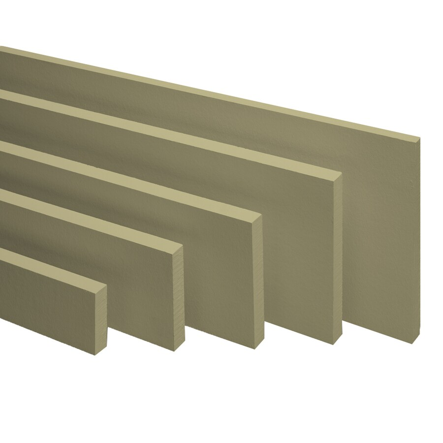 James Hardie Prime Smooth Fiber Cement Trim Siding (Common: 3.5-in x 12-ft; Actual: 3.5-in H x 12-ft L)