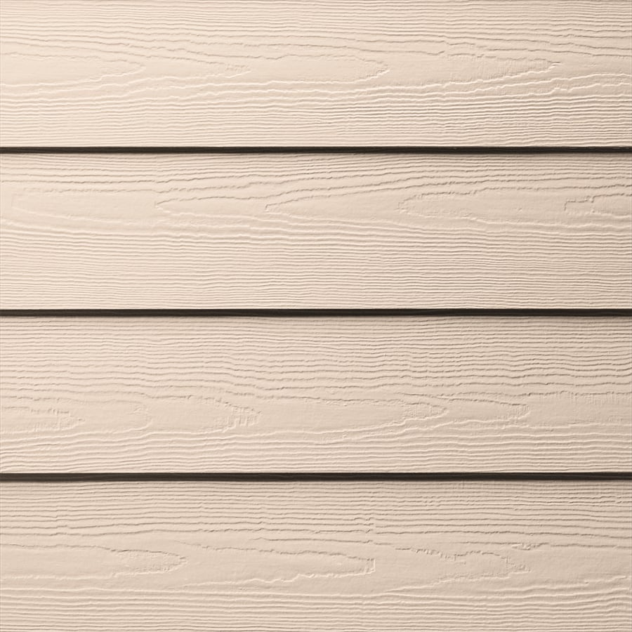 James Hardie HardiePlank Primed Coral Coast Cedarmill Lap Fiber Cement Siding Panel (Actual: 0.312-in x 8.25-in x 144-in)