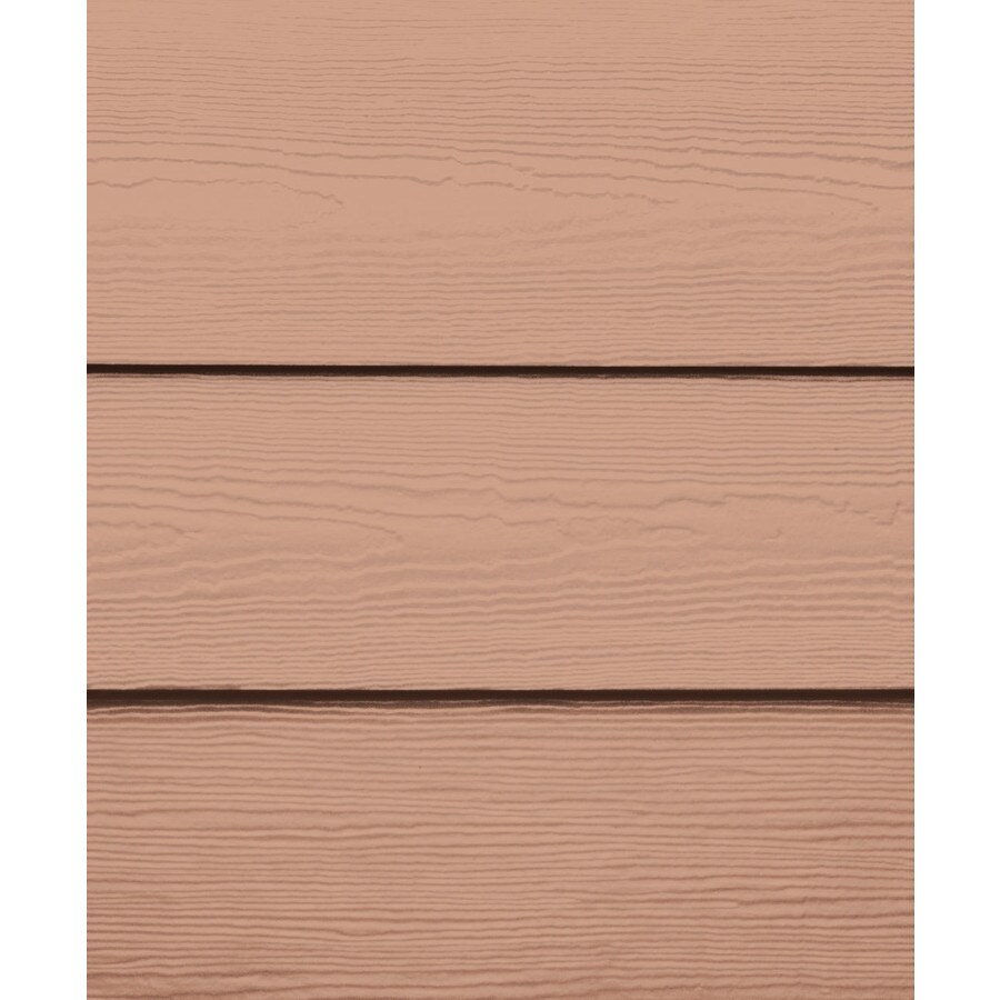 James Hardie (Actual: 0.312-in x 8.25-in x 144-in) HardiePlank Primed Terra Cotta Cedarmill Lap Fiber Cement Siding Panel