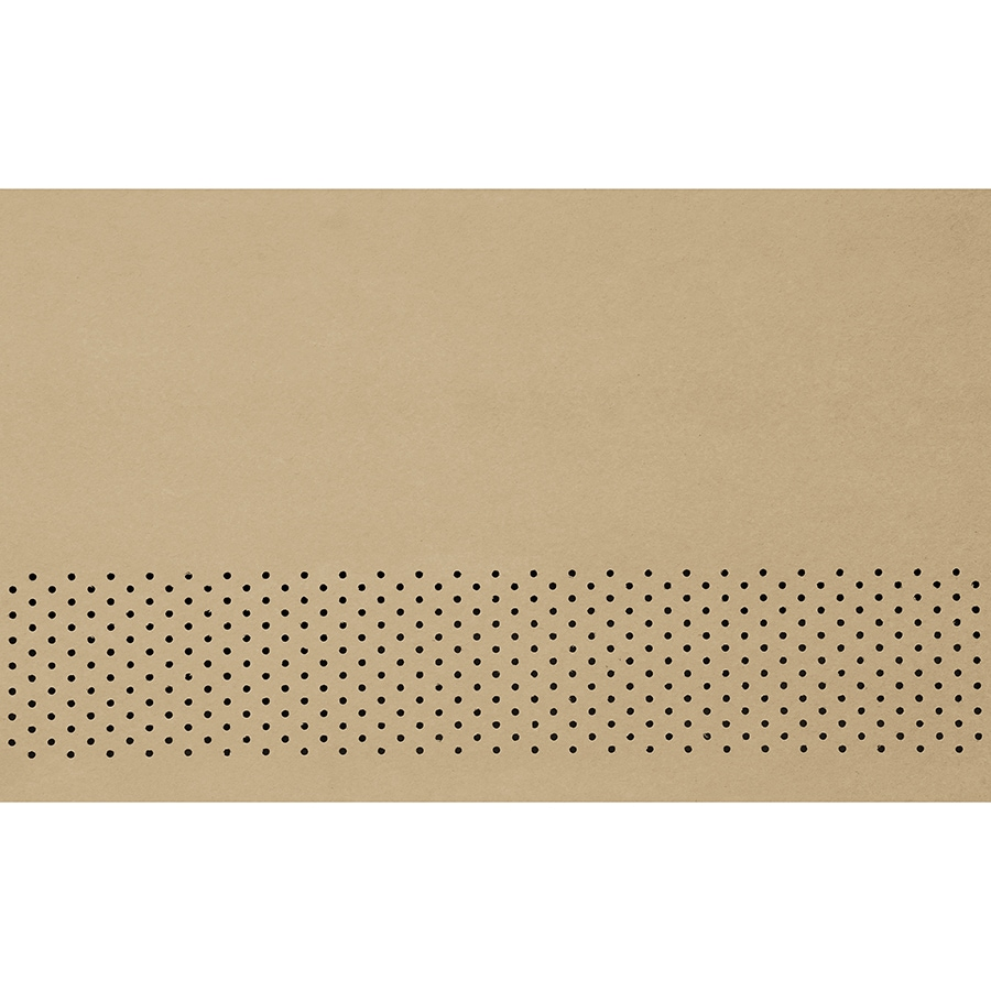 James Hardie 24-in x 96-in HardieSoffit Autumn Tan Fiber Cement Vented Soffit