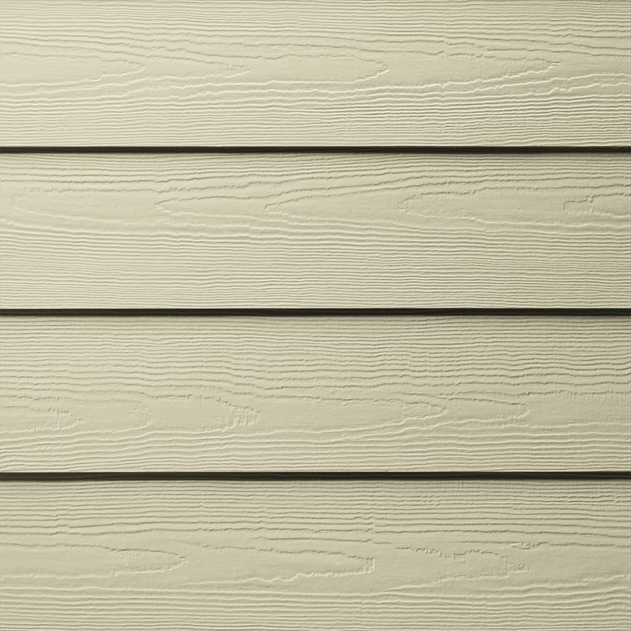 James Hardie HardiePlank Primed Navajo Beige Cedarmill Lap Fiber Cement Siding Panel (Actual: 0.312-in x 6.25-in x 144-in)