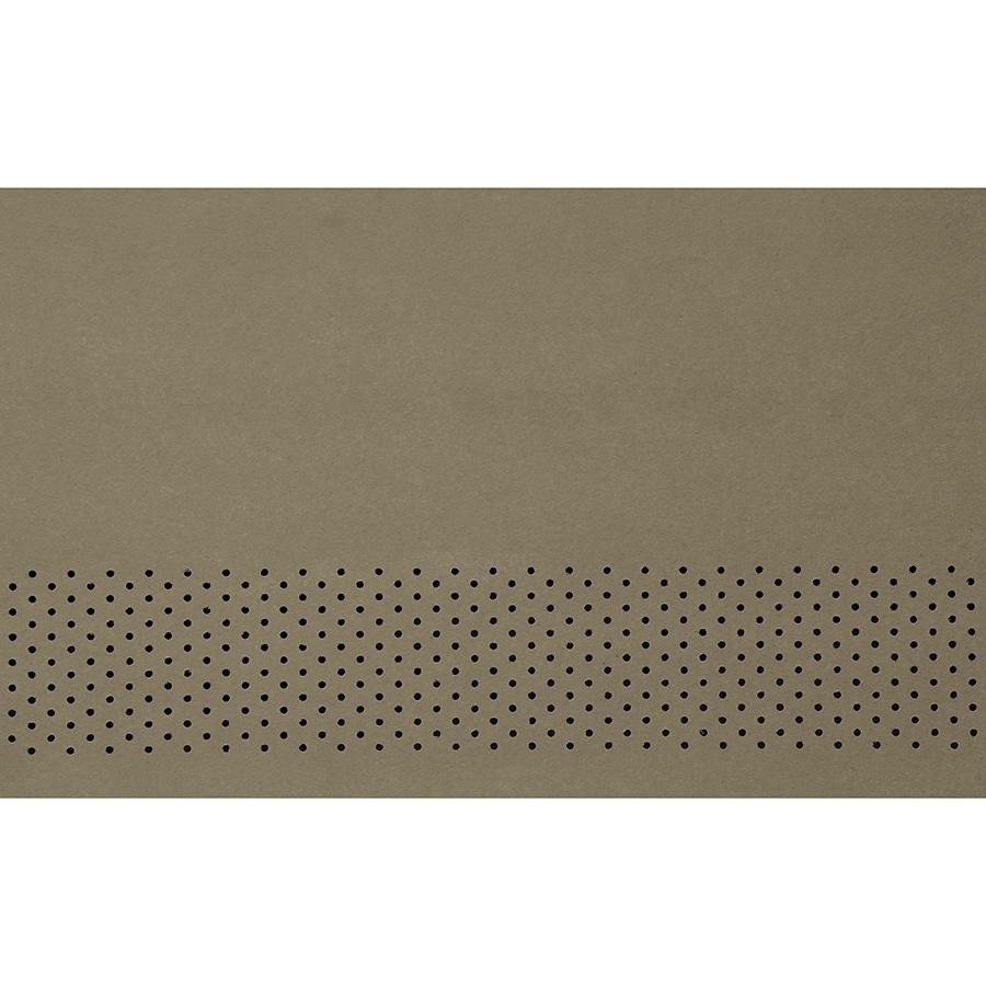James Hardie 24-in x 96-in HardieSoffit Woodstock Brown Fiber Cement Vented Soffit