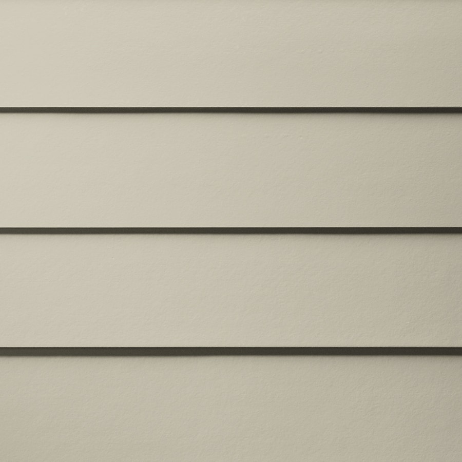 James Hardie HardiePlank Primed Cobble Stone Smooth Lap Fiber Cement Siding Panel (Actual: 0.312-in x 6.25-in x 144-in)