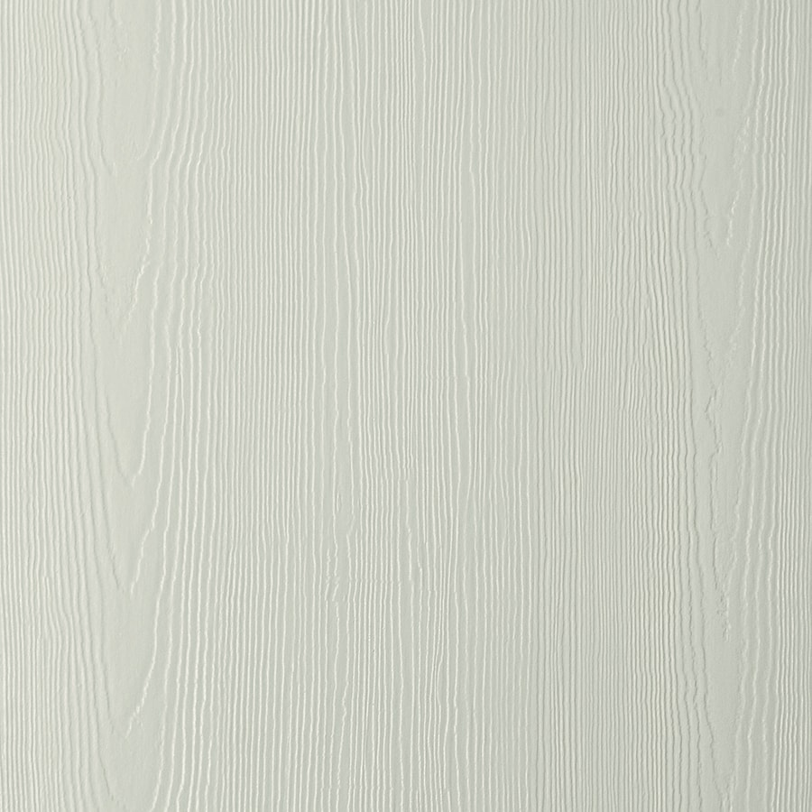 James Hardie (Actual: 0.312-in x 48-in x 96-in) HardiePanel Primed Soft Green Cedarmill Vertical Fiber Cement Siding Panel
