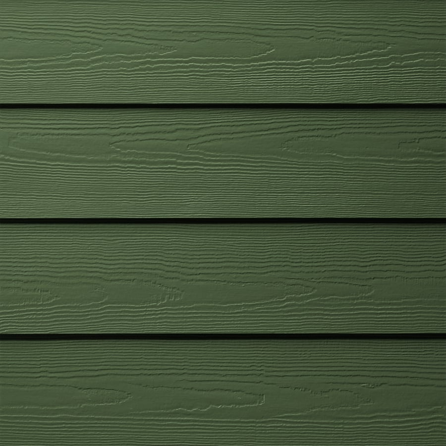 James Hardie (Actual: 0.312-in x 6.25-in x 144-in) HardiePlank Primed Parkside Pine Cedarmill Lap Fiber Cement Siding Panel