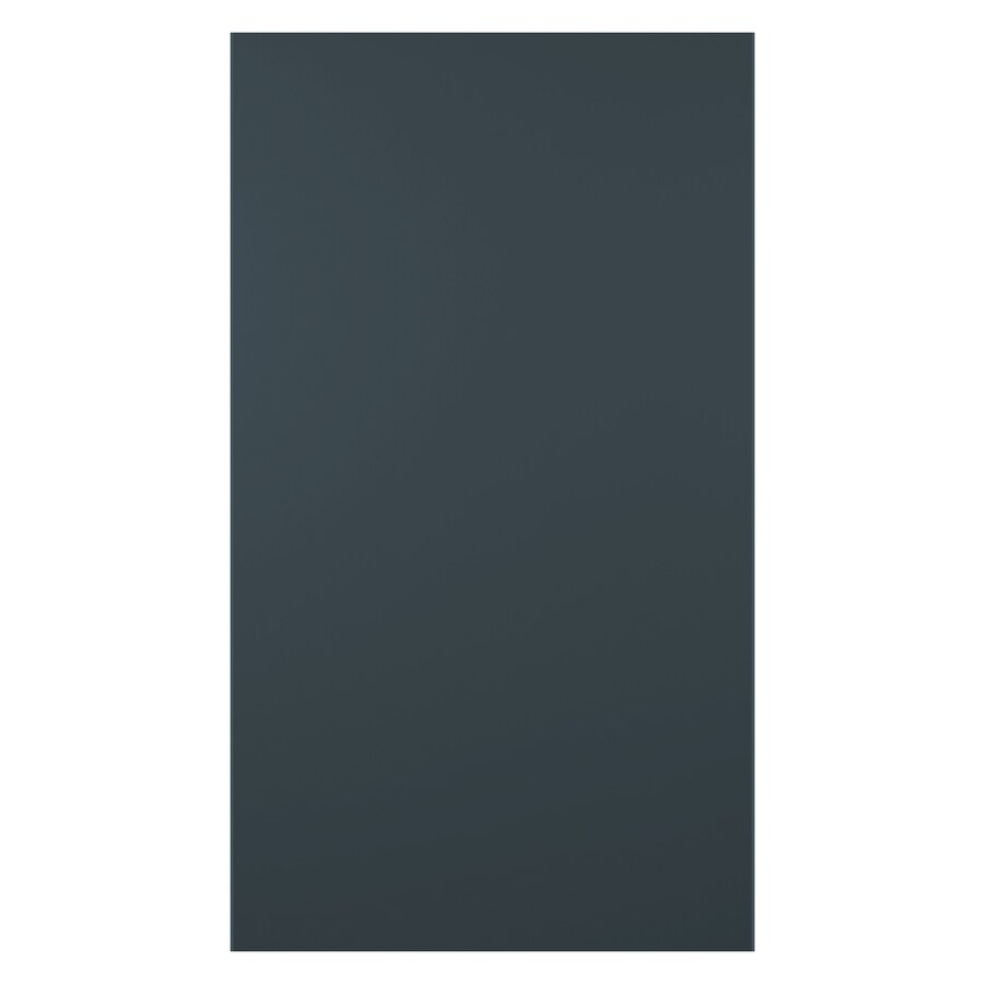 James Hardie HardiePanel Primed Evening Blue Smooth Vertical Fiber Cement Siding Panel (Actual: 0.312-in x 48-in x 120-in)