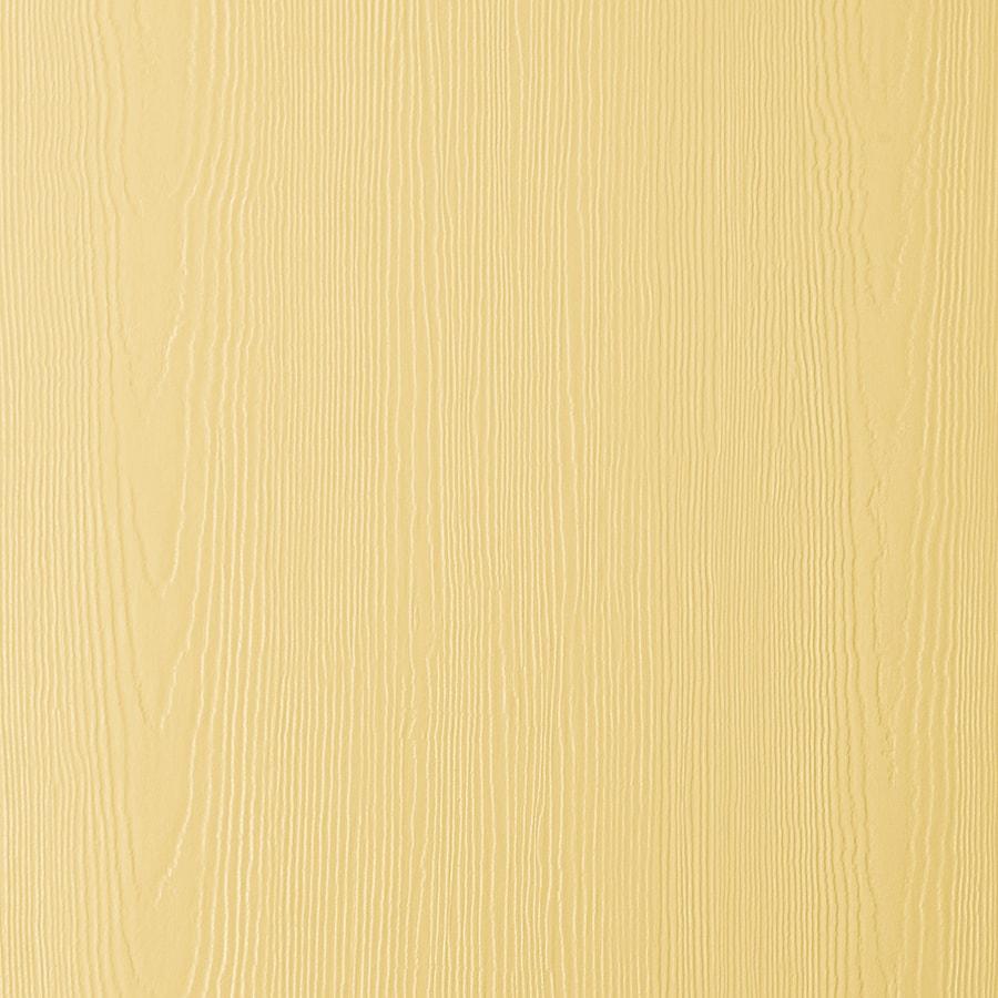 James Hardie HardiePanel Primed Harris Cream Cedarmill Vertical Fiber Cement Siding Panel (Actual: 0.312-in x 48-in x 96-in)