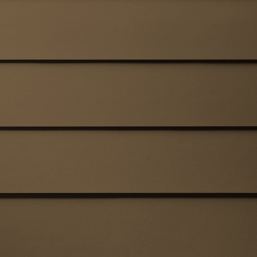 James Hardie HardiePlank Primed Chestnut Brown Smooth Lap Fiber Cement Siding Panel (Actual: 0.312-in x 6.25-in x 144-in)