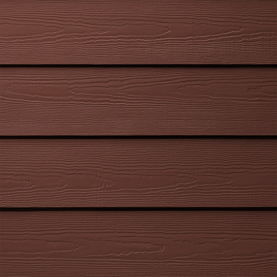 James Hardie HardiePlank Primed Countrylane Red Cedarmill Lap Fiber Cement Siding Panel (Actual: 0.312-in x 5.25-in x 144-in)