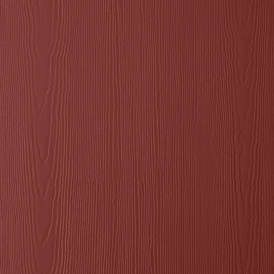 James Hardie (Actual: 0.312-in x 48-in x 96-in) HardiePanel Primed Countrylane Red Cedarmill Vertical Fiber Cement Siding Panel