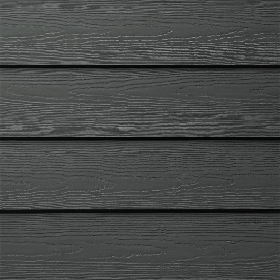 Shop James Hardie 625 in X 144 in HardiePlank Iron Gray