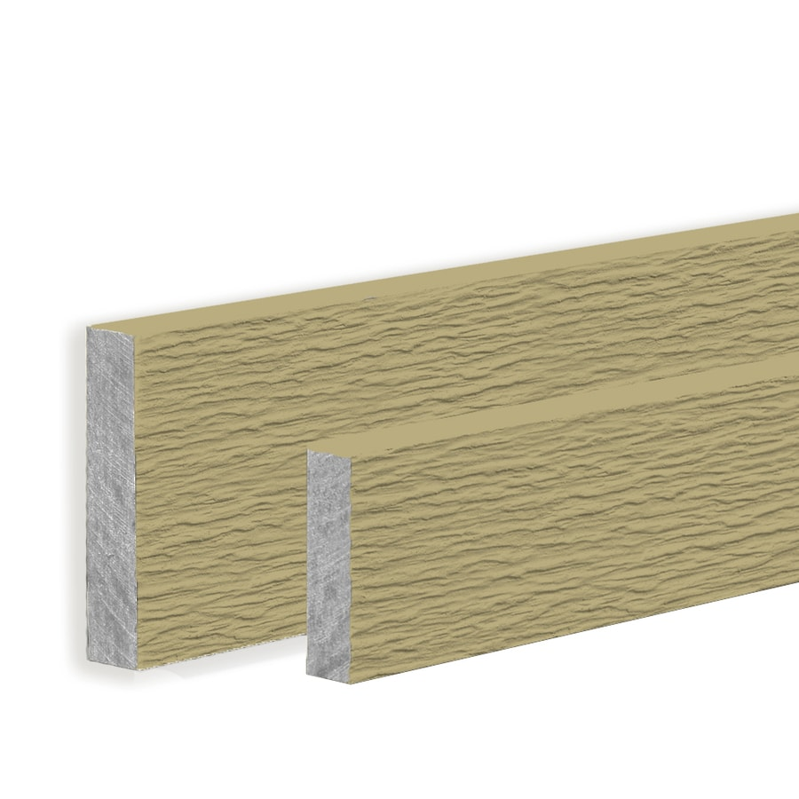 James Hardie HardieTrim 11.25-in x 144-in Primed Woodgrain Fiber Cement Trim