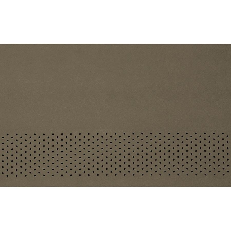 James Hardie 24-in x 96-in HardieSoffit Timber Bark Fiber Cement Vented Soffit
