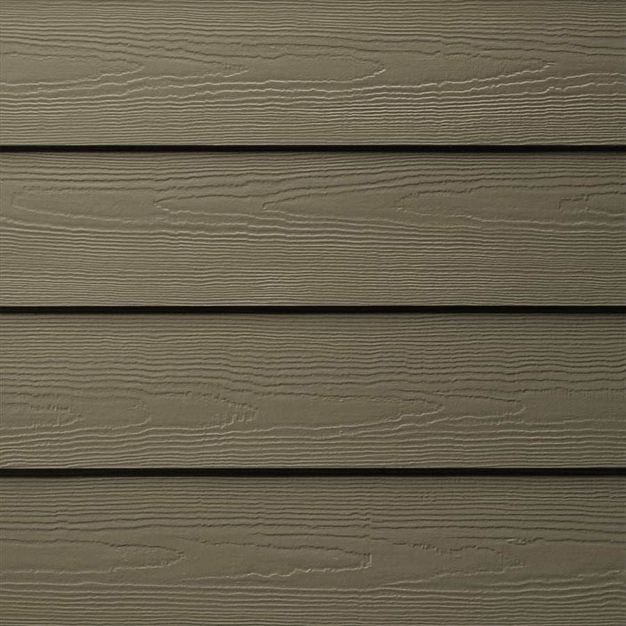 James Hardie (Actual: 0.312-in x 6.25-in x 144-in) HardiePlank Primed Timber Bark Cedarmill Lap Fiber Cement Siding Panel