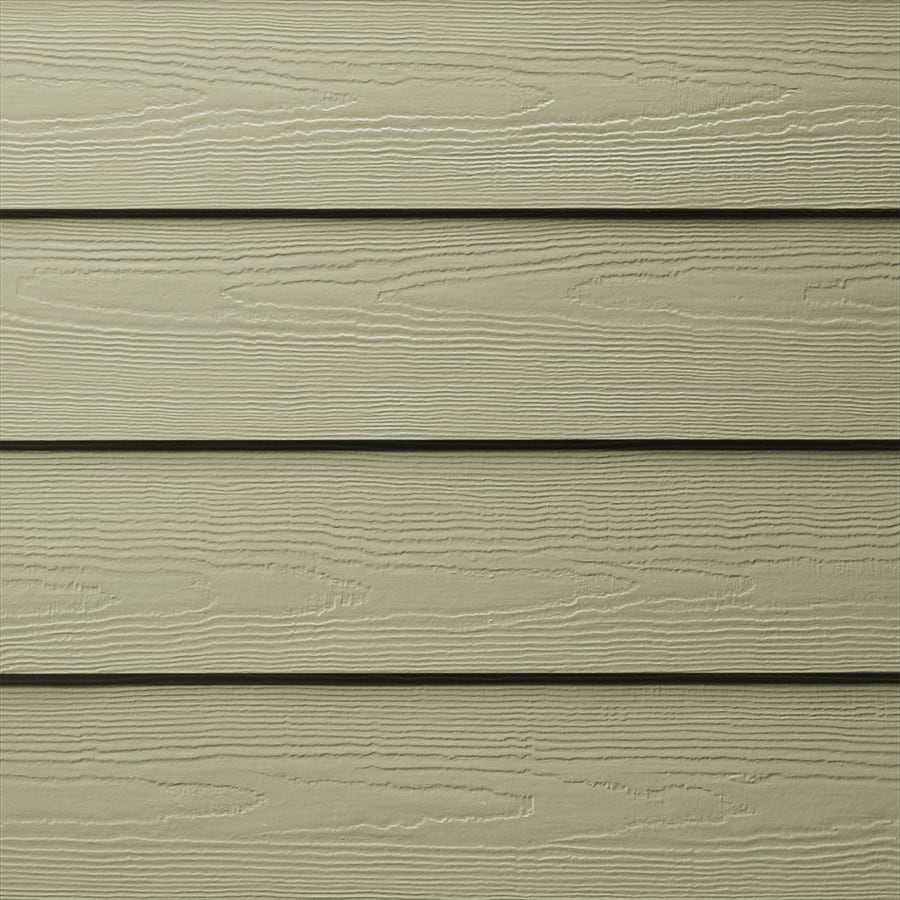 James Hardie (Actual: 0.312-in x 6.25-in x 144-in) HardiePlank Primed Heathered Moss Cedarmill Lap Fiber Cement Siding Panel