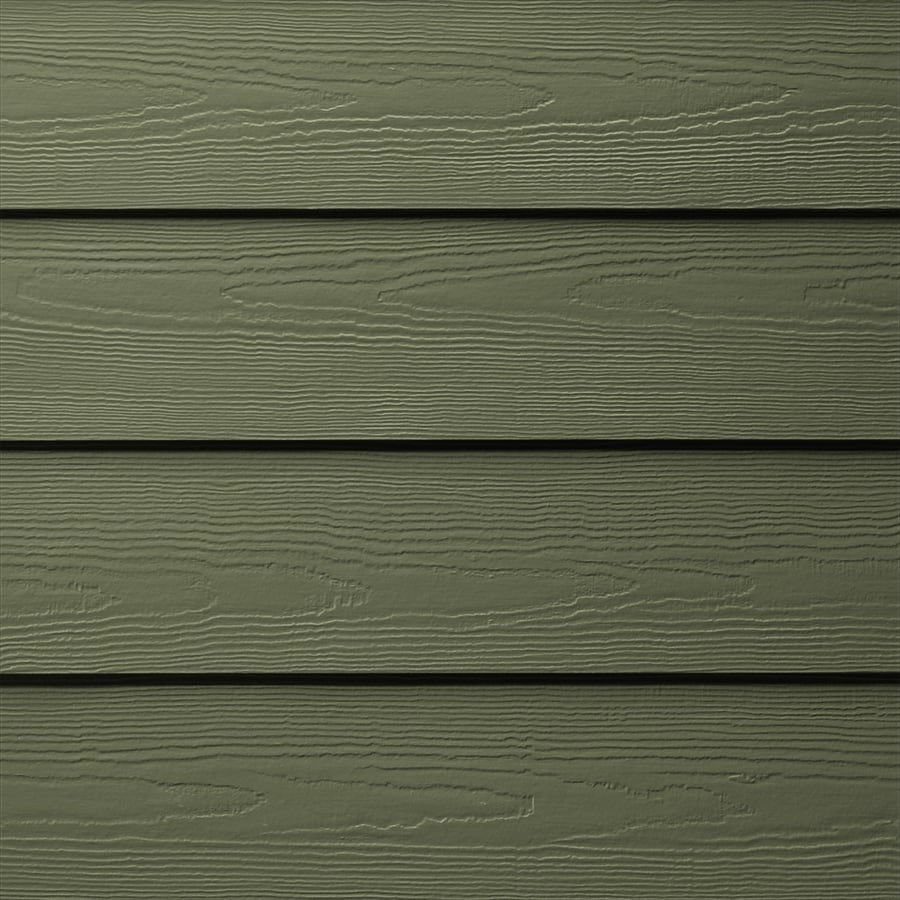 Shop James Hardie (Actual: 0.312-in x 6.25-in x 144-in) HardiePlank Primed Mountain Sage ...