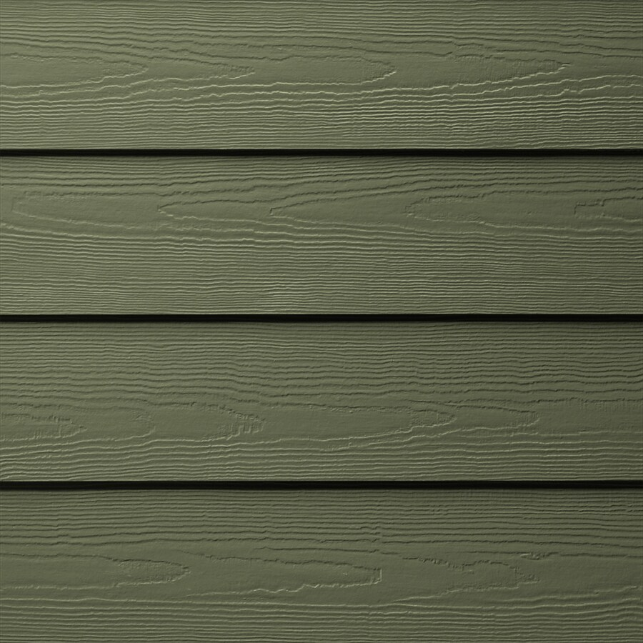 James Hardie HardiePlank Primed Mountain Sage Cedarmill Lap Fiber Cement Siding Panel (Actual: 0.312-in x 6.25-in x 144-in)