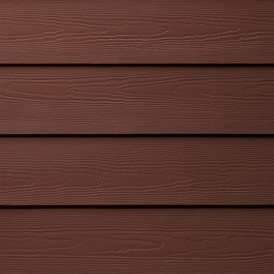James Hardie HardiePlank Primed Countrylane Red Cedarmill Lap Fiber Cement Siding Panel (Actual: 0.312-in x 6.25-in x 144-in)