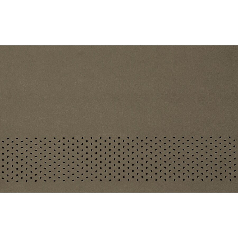 James Hardie 16-in x 144-in HardieSoffit Timber Bark Fiber Cement Vented Soffit