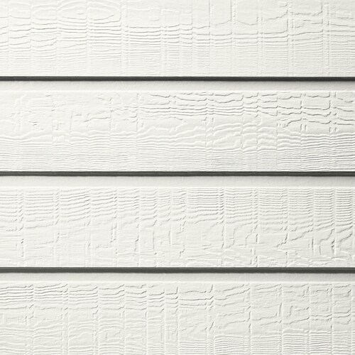 James Hardie 8 In X 144 In Colorplus Hz10 Hardieplank Arctic White Colonial Roughsawn Lap Siding
