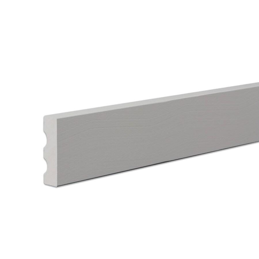 James Hardie 3.5-in x 144-in HardieTrim Primed Timber Bark Smooth Fiber Cement Trim