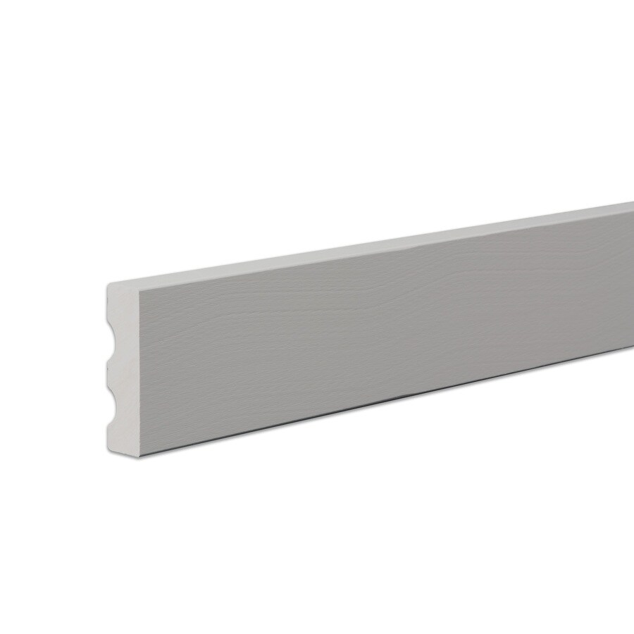 James Hardie 11.25-in x 144-in HardieTrim Primed Cobble Stone Smooth Fiber Cement Trim