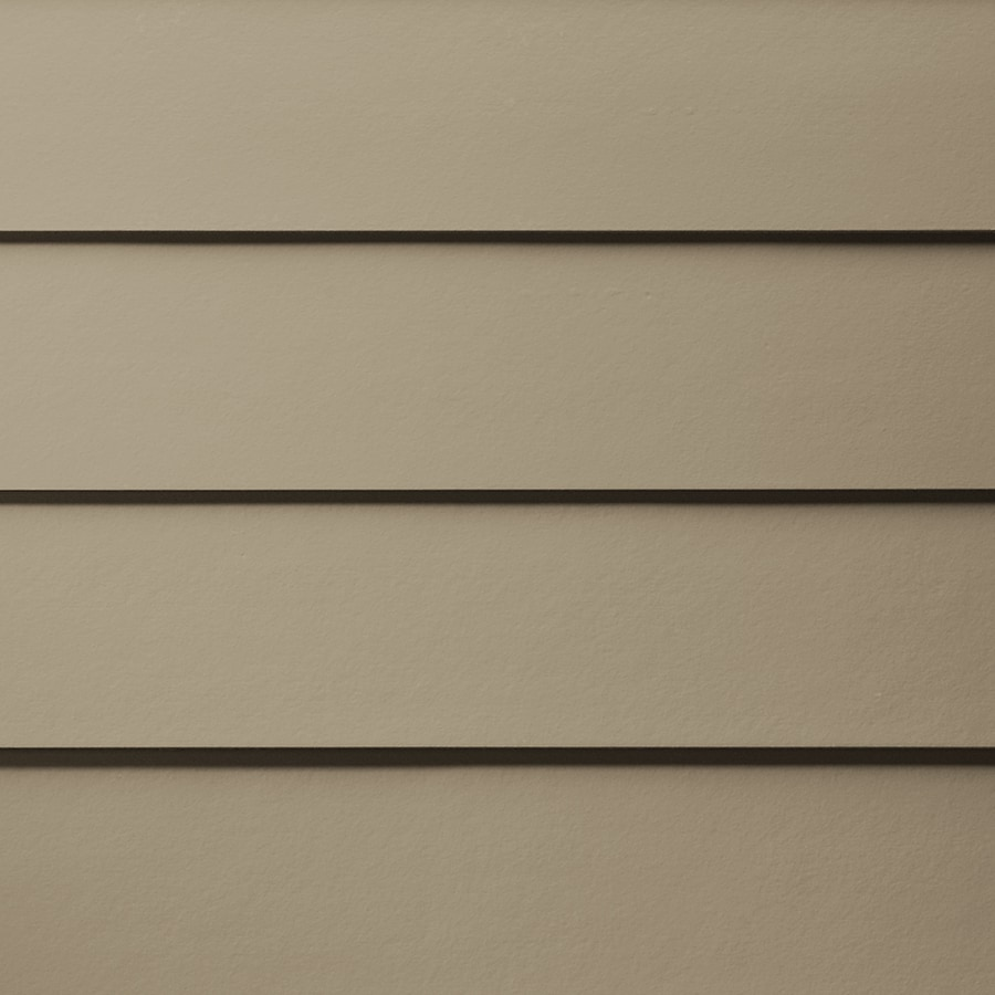 James Hardie (Actual: 0.312-in x 5.25-in x 144-in) HardiePlank Primed Khaki Brown Smooth Lap Fiber Cement Siding Panel